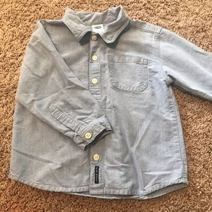 Boys Chambray button up